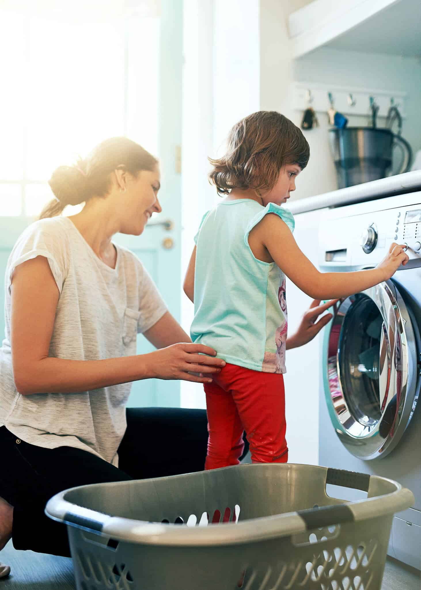 family dryer and repairing a stove